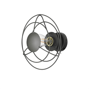 WATT A LAMP Radio Wall Lamp Small Dark Grey