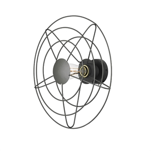 WATT A LAMP Radio Wall Lamp Medium Dark Grey