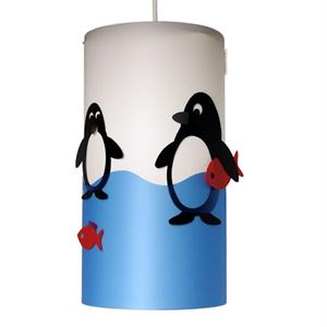 Happylight Penguin Children's Pendant Small